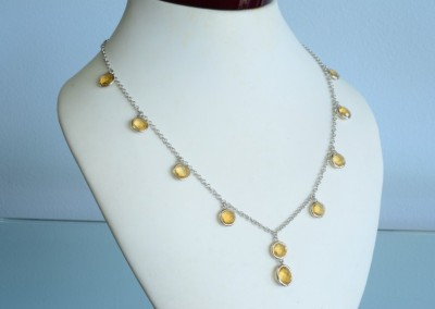 yellow diamond necklace in Louisville